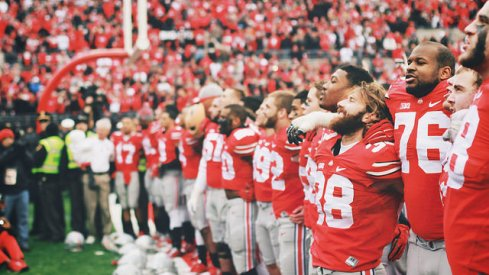 Ohio State's Michael Bennett, Evan Spencer and Doran Grant talked about Wisconsin, playing with Cardale Jones, and their fallen teammate.