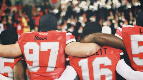 J.T. Barrett and Joey Bosa lead Ohio State's contingent of Big Ten honorees.