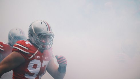 Ohio State defensive end Joey Bosa has been named the Big Ten Defensive Player of the Year.