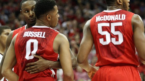 Ohio State's furious second-half rally fell short against Louisville Tuesday night.