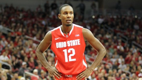 Sam Thompson finished with 7 points at Louisville.