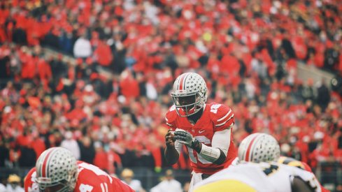 For the first time since a season-ending injury, Ohio State quarterback J.T. Barrett met with reporters to reflect on a storybook season and where the Buckeyes go from here.