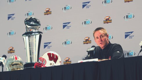 Gary Andersen addresses the media in Indianapolis