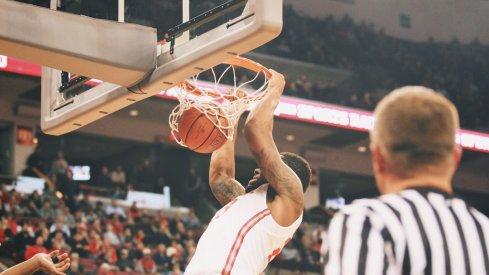 Amir Williams sends it home.