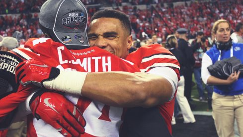 After destroying Wisconsin, Ohio State says it belongs in the playoff.