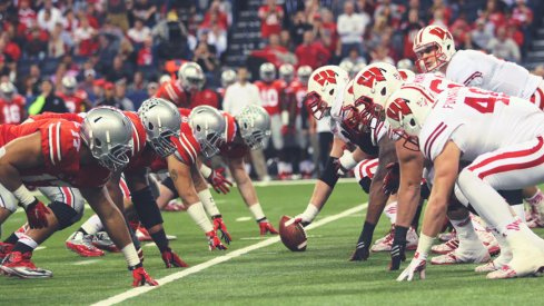 The Buckeye defensive line owned the trenches in Indy