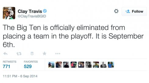 Clay Travis is horrible. But you already knew that.