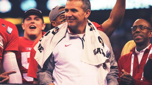 Urban Meyer is all smiles