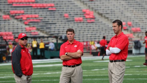 Tim Hinton, Chris Ash and Luke Fickell