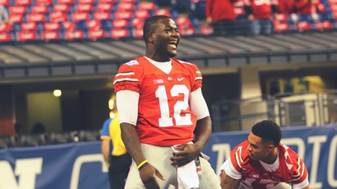 Cardale Jones is all smiles.