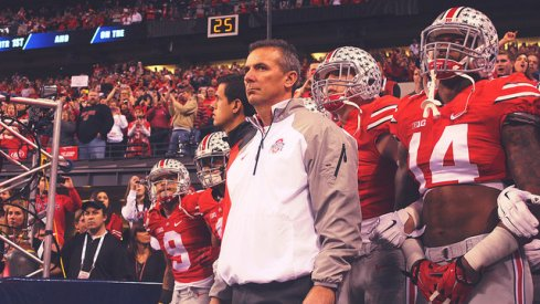 y'all ready to catch this fade? - urban meyer before wisconsin game