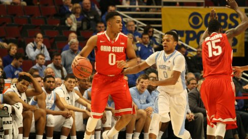 North Carolina handled the Buckeyes, 82-74, Saturday in the CBS Sports Classic.