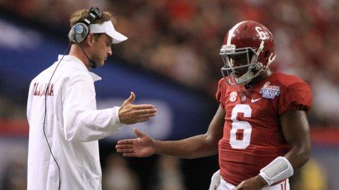Lane Kiffin and Blake Sims have Alabama's offense clicking