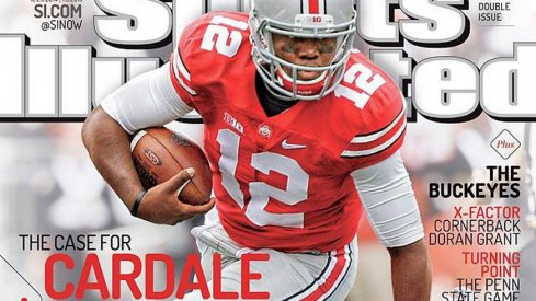 Cardale Jones makes the cover of Sports Illustrated ahead of Ohio State's game with Alabama.