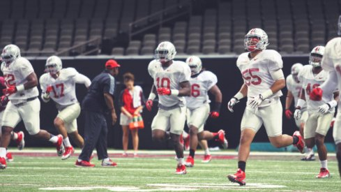 Ohio State had its first Sugar Bowl practice Monday morning.