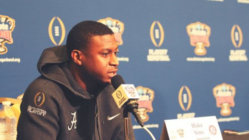 Before he was Alabama's starting quarterback, Blake Sims was an afterthought and a misfit.