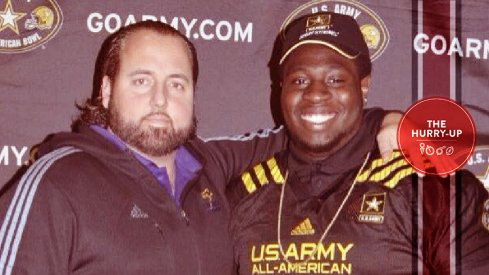 Neville Gallimore will make a college choice on Saturday.