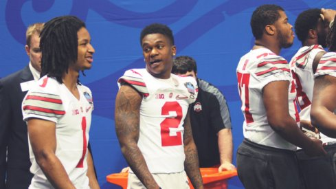 Ohio State's Dontre Wilson said he'll play in the Sugar Bowl Thursday.