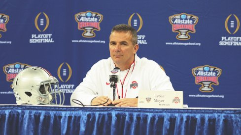 For the last time before the Sugar Bowl, Urban Meyer met with the media Wednesday morning.