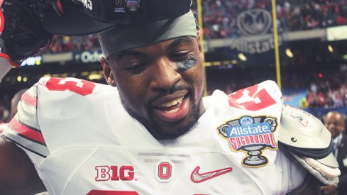 """""""Everybody called it a shock to the world, I'm not shocked at all ... I left my Big Ten Championship hat at the house just because I knew I was going to get this new hat."""""""