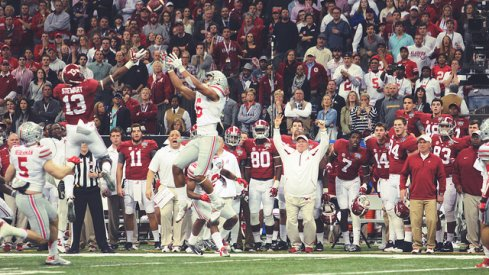 Ohio State-Alabama had the largest audience in cable television history.