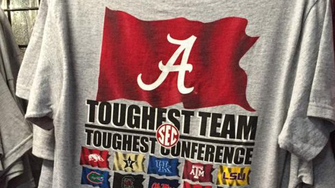 Alabama - Toughest Team, Toughest Conference Shirt is on sale for 80% off