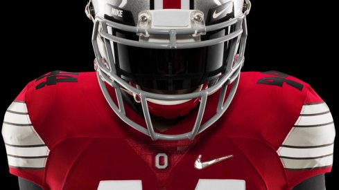 Ohio State will wear the crisp looking scarlet Nike Diamond Quest jerseys in the championship game.