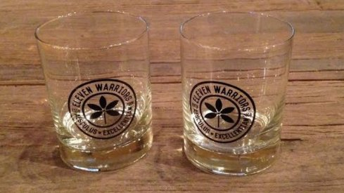 At long last, whiskey glasses are coming back to Eleven Warriors Dry Goods.