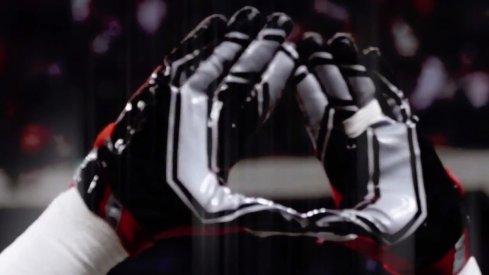 Ohio State Block O gloves
