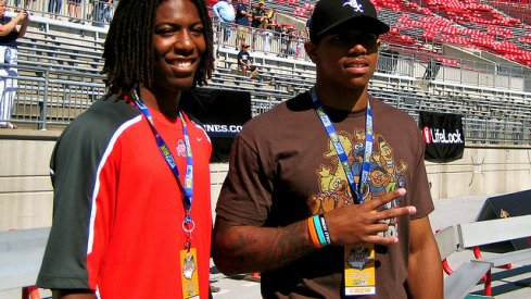 Two buckeye gr8s: Duron Carter and Terrelle Pryor