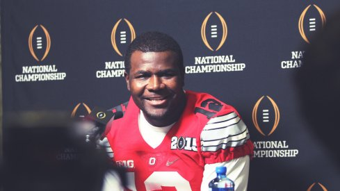 Cardale Jones flashes his smile.
