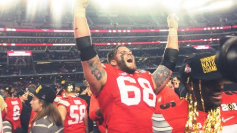 Taylor Decker anchored an offensive line that could not be denied.
