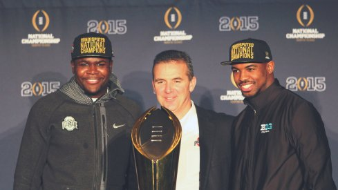 Buckeyes are all smiles.