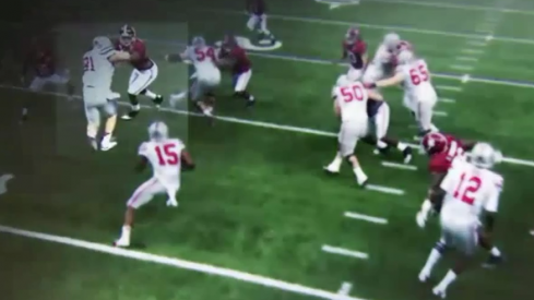 Ezekiel Elliott readies Alabama's death knell, YouTube
