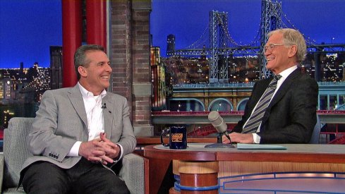 Urban Meyer will appear on the Late Show with David Letterman Friday night.