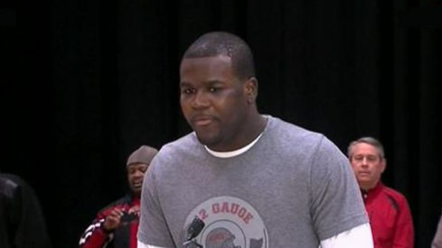 Cardale Jones showed maturity he hadn't shown before at a press conference in Cleveland Thursday.