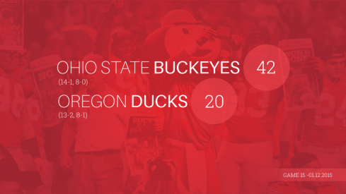 Ohio State Oregon Infographic Header
