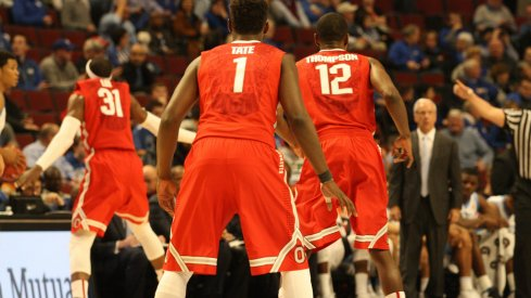Buckeyes play D.
