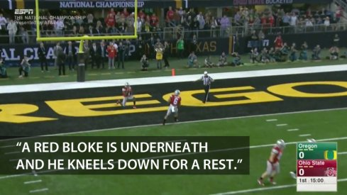 Video: It's bad British commentary of the National Championship game between Ohio State and Oregon.