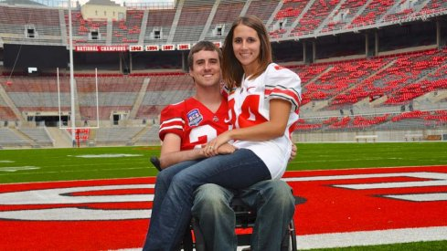 Tyson Gentry and his wife.