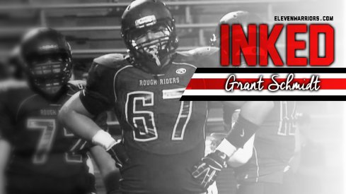 Sioux Falls offensive lineman Grant Schmidt
