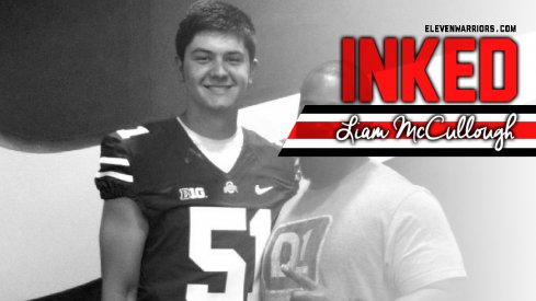 Liam McCullough is a Buckeye