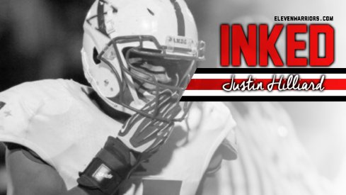 Justin Hilliard is officially a Buckeye