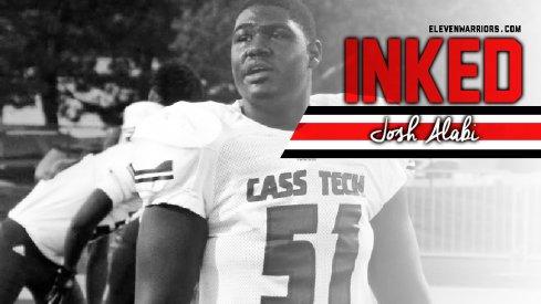 Detroit's Josh Alabi is officially a Buckeye