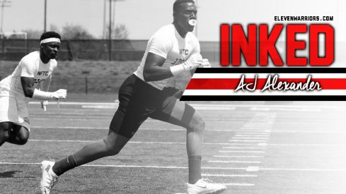 AJ Alexander is officially a Buckeye