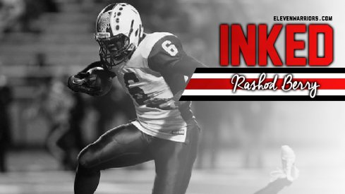 Rashod Berry is officially a Buckeye