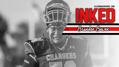 Branden Bowen is officially a Buckeye.