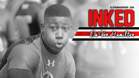 Da'Von Hamilton is officially a Buckeye