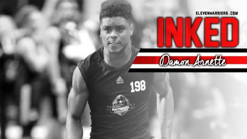 Damon Arnette is officially a Buckeye.
