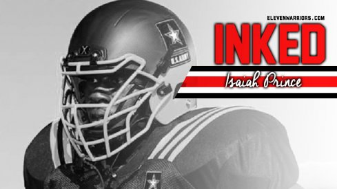 Isaiah Prince is officially a Buckeye.